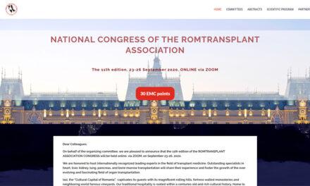 Congresul Național al Asociației Române Romtransplant se va desfășura online
