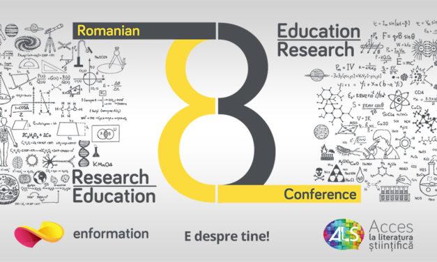 Romanian Conference for Education and Research 2020 (online, 27-29 octombrie) – înregistrare gratuită pentru studenți