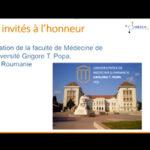 UMF Iași a participé à la conférence des universités de médecine de France