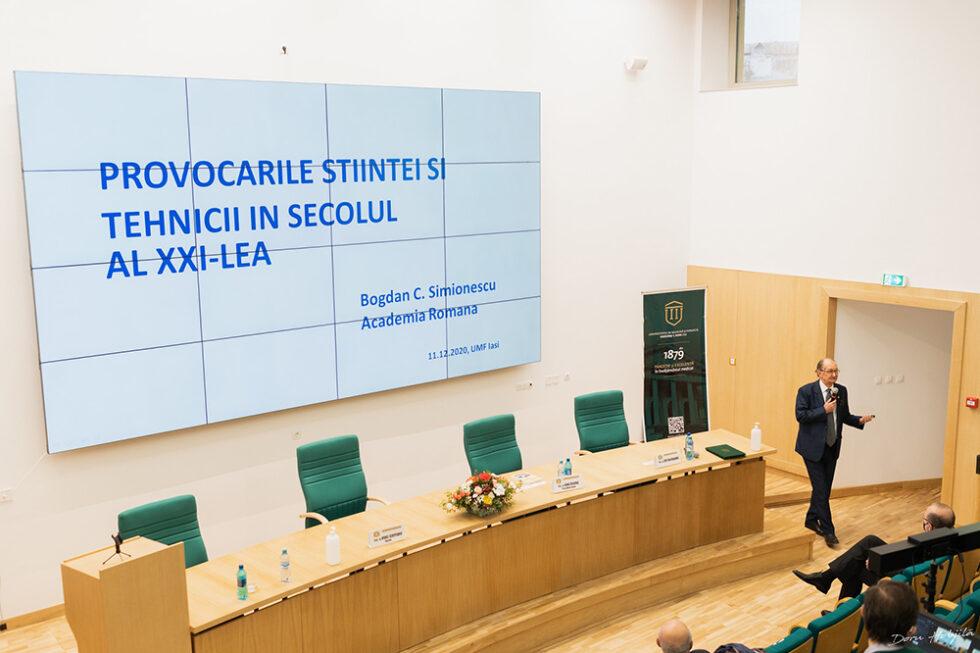 Conferinta B. Simionescu - Provocarile stiintei si tehnicii in secolul al XXI-lea (1)