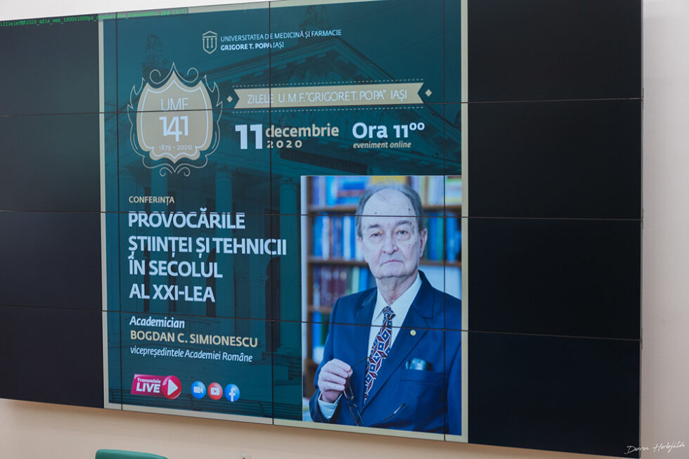 Conferinta B. Simionescu - Provocarile stiintei si tehnicii in secolul al XXI-lea (4)