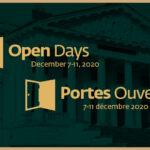 Portes Ouvertes / Open Days