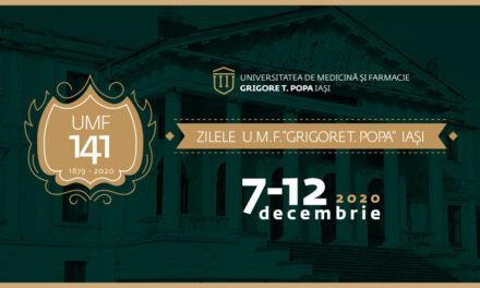 Zilele UMF Iași: 141 de ani de excelență
