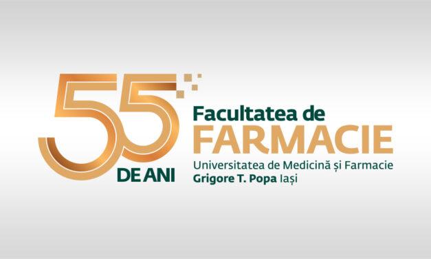 Facultatea de Farmacie, 55 de ani de existență în cadrul Almei Mater – UMF Iași