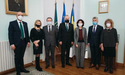 Ambasadorul Franţei în România, în vizită la UMF Iași