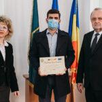 Masterand la Bioinginerie, premiat de M.Ap.N.