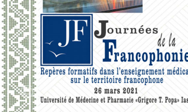 """""""Journées de la Francophonie"""" la UMF Iași"""