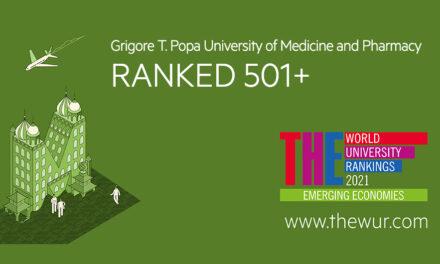 UMF Iași, în clasamentul Emerging Economies University Rankings 2021