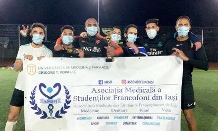 """Fotbal și caritate la UMF Iași: """"AMSFI CARITATIVE Cup"""""""
