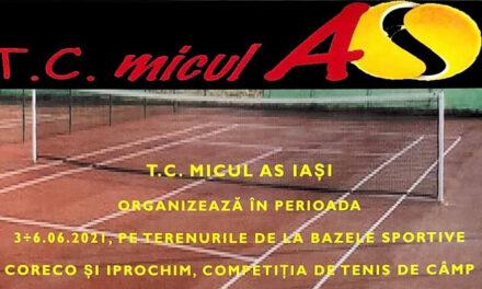 """Campionat de tenis """"Memorial Marius Bologa"""""""
