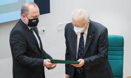 Prof. univ. dr. Cristian Dragomir, omagiat cu prilejul aniversării a 81 de ani