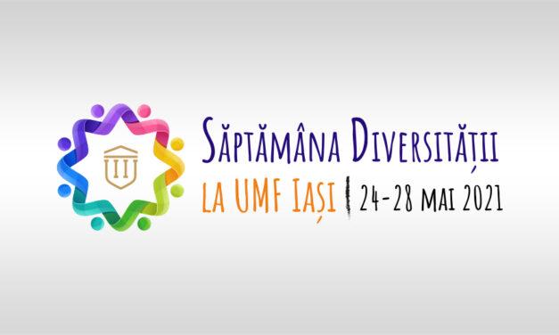 Săptămâna diversității la UMF Iași: 24-28 mai
