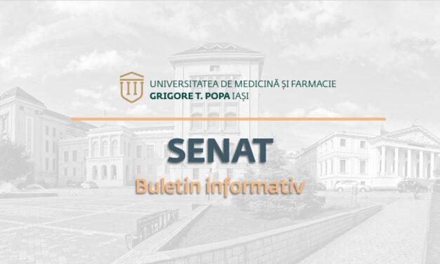 Buletin Informativ Ședință Senat 15 iulie 2021