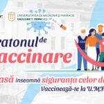 Maratonul de vaccinare la UMF Iași continuă: Vă așteptăm la rapel!