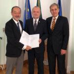 Prof. univ. dr. Dan Gabriel Duda primește titlul de Doctor Honoris Causa