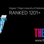 UMF Iași, al cincilea an consecutiv în clasamentul internațional al universităților realizat de Times Higher Education