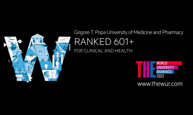 UMF Iași, în topul World University Rankings 2022 by subject